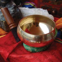 Cuenco tibetano shining grande