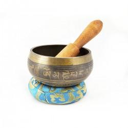Cuenco tibetano Brass Color