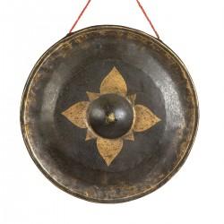 Gong con estrella central...