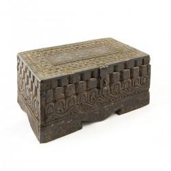 Caja de madera antigua...