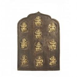 Retablo madera tallada Buda