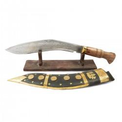 Cuchillo Khukuri decorativo