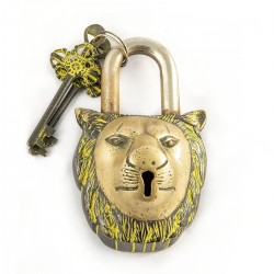 Candado en forma de león