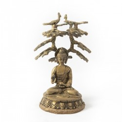 Buda en Nirvana de bronce...