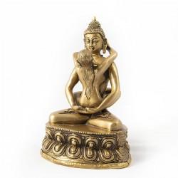 Buda del amor dorado
